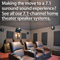 7.1 Surround Sound Speakers