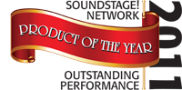 Epic 80 Home Theater Speakers received the Editors' Choice Award from SoundStage!