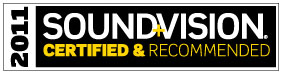 Sound&Vision awarded the M60s their coveted Certified&Recommended logo
